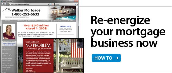 Energize your Mortgage Business Now.