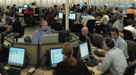 The client support center at our headquarters is staffed with experts 24 hours a day, 7 days a week, 365 days per year.