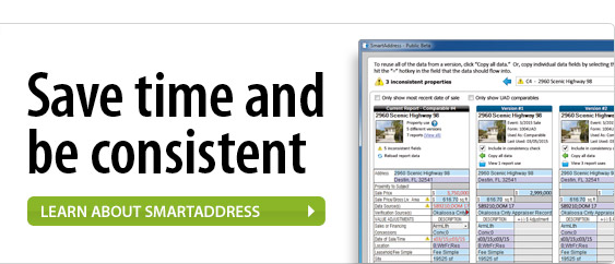 Save time and be consistent. Learn about SmartAddress.