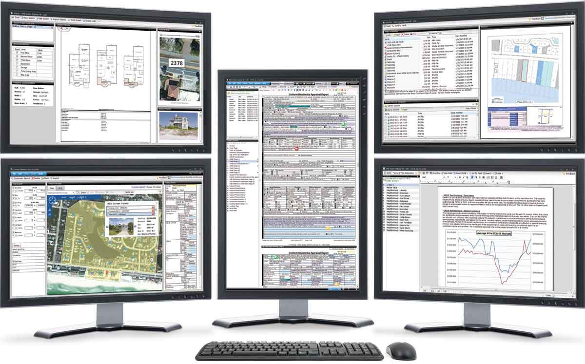 TOTAL multi-monitor example