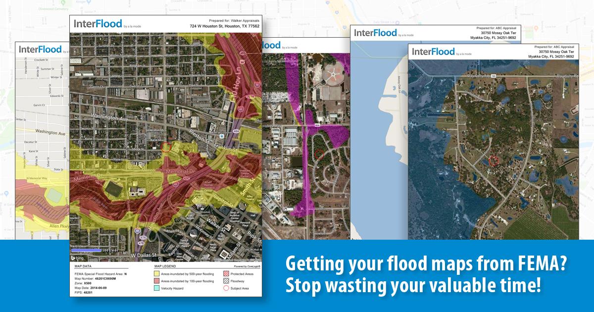 InterFlood Flood Maps A La Mode - Fema maps