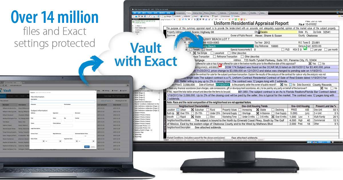 Vault - Cloud-based protection for your business - a la mode